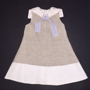 Other - Little girls khaki sailor dress